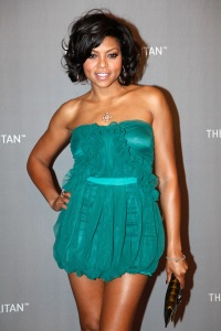 Taraji Henson Sundress