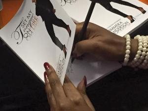 Jimmeka Signing Book
