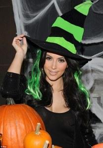Kim Kardashian Witch
