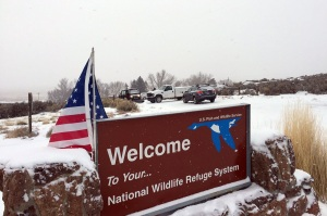 Militia National Wildlife Sign
