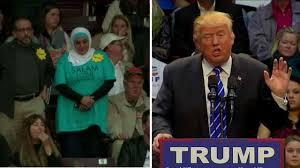 Trump Muslim woman