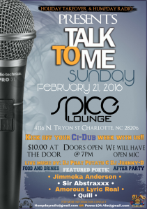 Spice Lounge Flyer